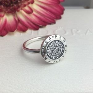 Authentic pandora ring size 7'5